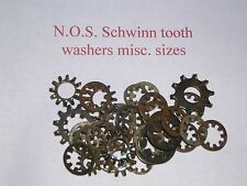 Schwinn bicycle bike  balloon tire N O S origina ltooth washers Misc small sizes