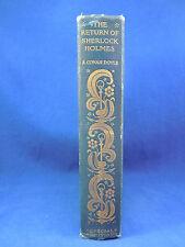 THE RETURN OF SHERLOCK HOLMES A. Conan Doyle Special Edition, 1905