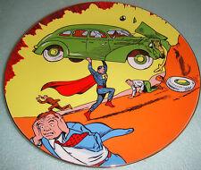 Superman 50th Birthday Action Comics #1 COLECCIONISTA Placa Firmado con / Caja