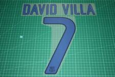 Barcelona 11/12 #7 DAVID VILLA 3rd Awaykit Nameset Printing