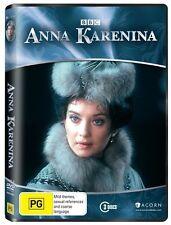 BBC ANNA KARENINA DVD=3 DISC SET=COMPLETE SERIES=REGION 4 AUS RELEASE=NEW/SEALED