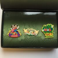 WDW Epcot International Flower & Garden Festival 2005 3 Pin Box Disney Pin 37914
