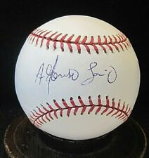 Alfonso Soriano Signed OML Baseball COA Chicago Cubs, New York Yankees