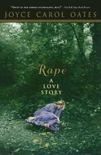 Rape: A Love Story (Papel de liar) Oates, Joyce Carol VeryGood