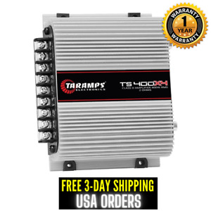 Taramps TS 400X4 2 Ohms Amplifier 4 Channel 400 W Full Range Amp Car Audio Power