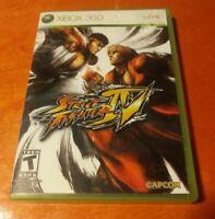 Street Fighter IV and The Ties That Bind Bonus Disc Microsoft Xbox 360 Capcom
