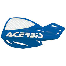 Acerbis MX Uniko Vented Handguards w/Fitting Kit - Blue