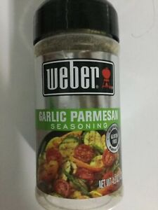 Weber Garlic Parmesan Family Size 4.3 Oz Brand New Exp Date April 2023
