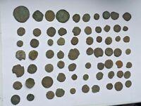 LOT OF 70 ANCIENT ROMAN BRONZE COINS
