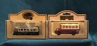 Lledo Days Gone promotional set of 2 Buses Coventry, Bradford T&A