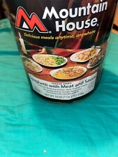 Mountain House Freeze Dried Spaghetti With Meat And Sauce #10 Can