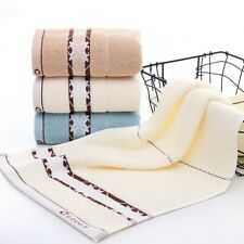 Home Jacquard Cotton Face Hand Towels Soft Dry Quick Washcloth Shower Towels New