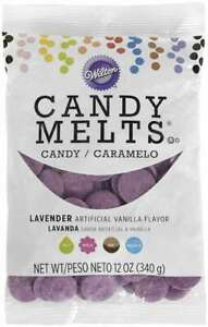 Candy Melts Flavored 12oz Lavender, Vanilla 070896060693