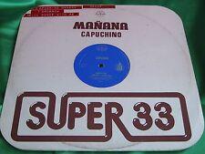 "EX Rare Funk Disco 12"" : Capuchino ~ Manana ~ El Bailara Conmigo ~  Gamma 33-34"
