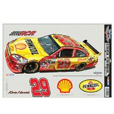 """KEVIN HARVICK #29 SHELL PENNZOIL 11""""X17"""" ULTRA DECALS"""