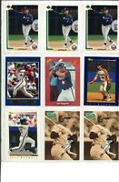 """LOT OF (63) JEFF BAGWELL Baseball Cards BASE, INSERT & RC CARDS """"HOF"""" Astros"""