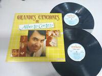"""Alberto Cortez Große Canciones Hispavox exitos - 2 X LP Vinyl 12 """" VG/VG"""
