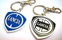 Portachiavi Lancia Fulvia Ypsilon Delta Integrale Lybra Regalo Emblema in Gomma