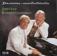 JAMES LAST & RICHARD CLAYDERMAN - DROOM-MELODIEEN  -  CD