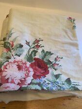 Rachel Ashwell Treasures Standard Floral Light Stripe Set Of Pillowcases Floral