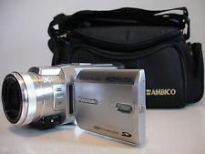Panasonic PV-GS400 MiniDV 3CCD Camcorder Mic/Remote AV DC USB Cable Battery Bag
