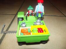playmobil 3074,4497 tracteur maraîchère 2005