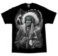 DGA David Gonzalez Art Vision Quest Native American Tattoo Urban Mens Shirt