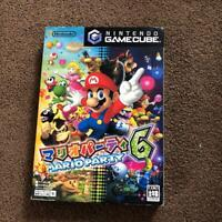 Mario Party 6 Nintendo GameCube Game software Rare Japan F/S W/Tracking# Used JP
