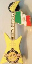 Hard Rock Cafe COZUMEL 2005 Independence Day Explorer Guitar- HRC Catalog #30237