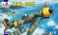 Amodel 72168 IAR-80C Romanian Fighter, 1/72 scale plastic model kit