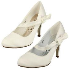 Mujer Anne Michelle Hermoso Novia Asimétrico Tira Zapatos de Boda