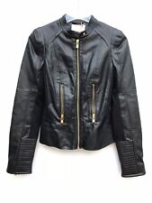 Pull And Bear Biker Jacket Faux Leather Size Small