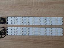 10 x LED Waggon Beleuchtung 285 mm warm-weiss  kürzbar + Anschusskabel angelötet