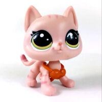 rare Littlest Pet Shop LPS animal Hula Hibiscus #251 Hasbro Figure Cute toy doll