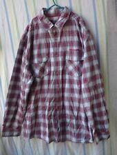 Mens Shirt By Debenhams Red Herring Size XL Red Check 100% Cotton