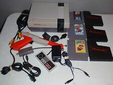 Nintendo Entertainment NES System Console with Super Mario Bros./Duckhunt 1 2 3