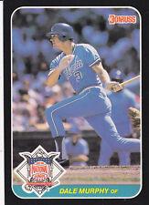 Dale Murphy Atlanta Braves DonRuss 3x5 All Star 1987