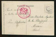 Albania Albanien Postcard Austria Military Post in Scutari WW1