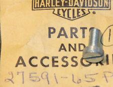 HARLEY AERMACCHI 999P CARB CONTROL COVER SCREW  3MM X 3 NOS OEM