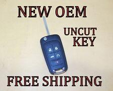 NEW 10-12 13 14 15 OEM GM CHEVY FLIP KEY KEYLESS REMOTE FOB TRANSMITTER 13500221