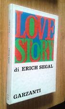 ERICH SEGAL - LOVE STORY - GARZANTI - 1971 - hard cover -  SR6