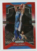 2019-20 Ben Simmons Panini Prizm Red Wave #198