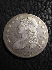 1834 SILVER CAPPED BUST Half Dollar - VF+ - INV#2371
