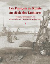 Les Français en Russie au siècle des Lumières, deux volumes