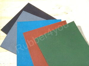 Playground Rubber Safety Tiles Mats Various Colours 500x500mm with FREE Fixings