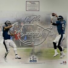 Autographed/Signed NICK FOLES Philly Special Eagles 16x20 Photo Fanatics COA #3