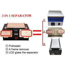3in1 LCD Touch Screen Separator Vaccum Middle Frame Machine for Cellphone Repair