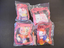 2004 McDonalds Happy Meal Toy Hello Kitty 30th Anniversary Lot of 4 NEW