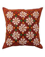 Handmade Floral Square Decorative Cushions & Pillows
