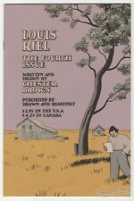 Louis Riel #4 underground comix Chester Brown Canadian comic D&Q 2000